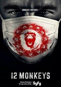 12 обезьян (2015-2016) Сезон 1, 2  полный